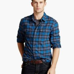 Lucky Brand California Fit Flannel Shirt Sz XXL